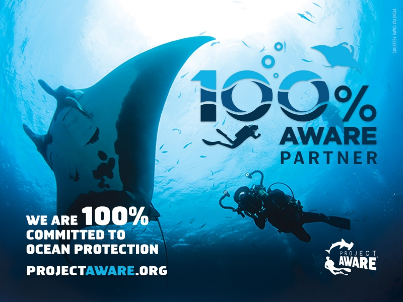 UNDER HUNDRED became PROJECT AWARE PARTNER
