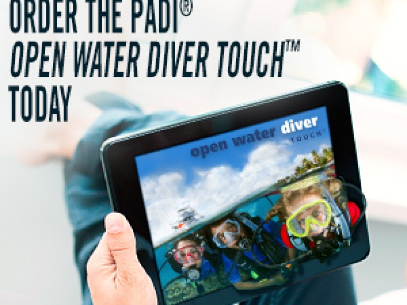 OFFERTA SPECIALE CORSO OPEN WATER DIVER TOUCH 2017